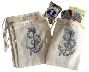 Anchor Beach Wedding Favors Bags