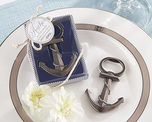 Anchor Nautical Themed Bottle Opener Favor