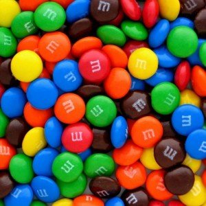 Bulk M&M's Plain Milk Chocolate