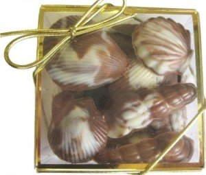 Chocolate Seashell Gift Box