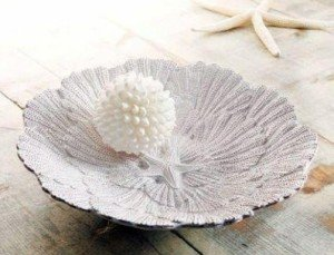 Embossed Shell Pasta Bowl