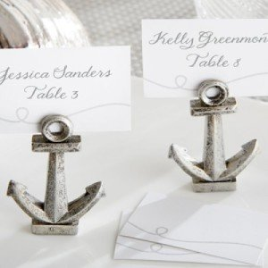 Nautical Anchor Place Card:Photo Holder