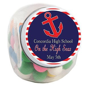 Nautical Romance Candy Jar