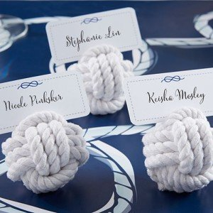Nautical Rope Place Card Holder