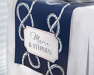 Personalized Nautical Wedding Table Runner