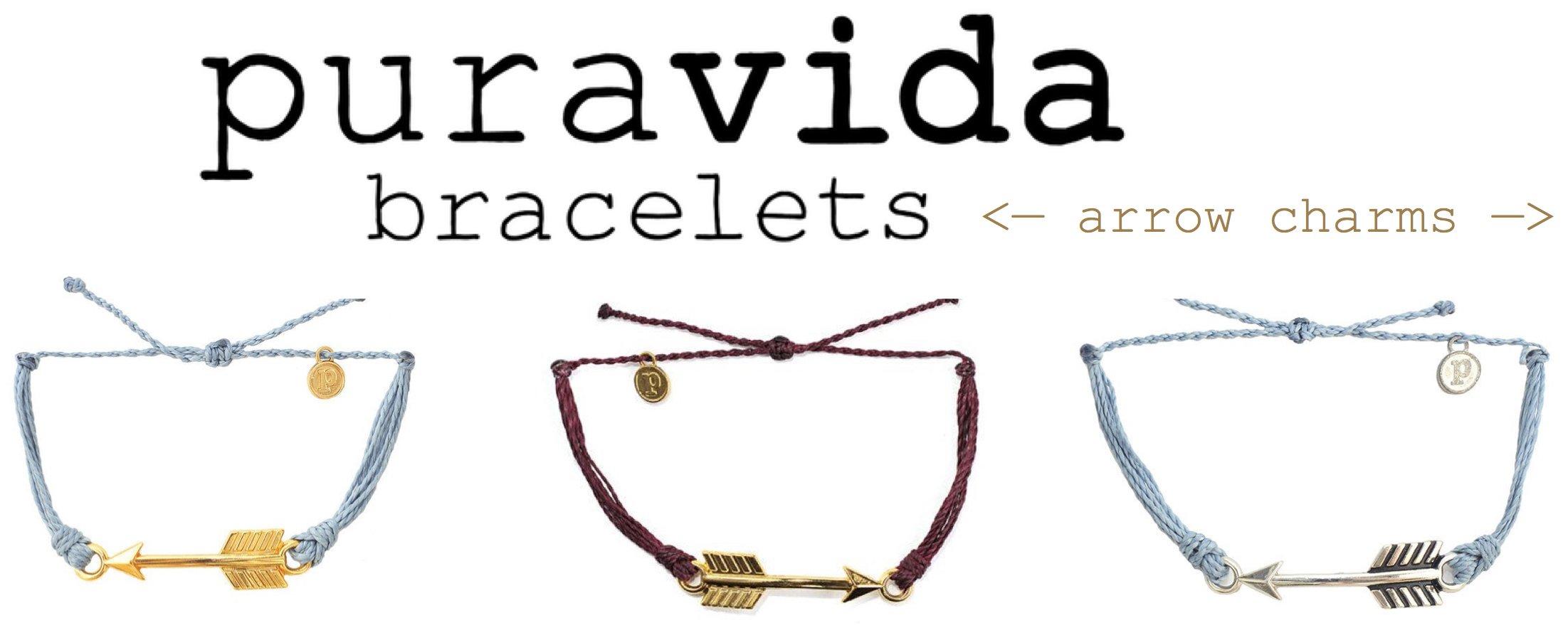Pi Beta Phi Arrow Charm Bracelets
