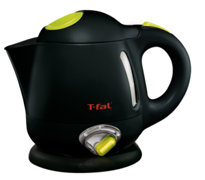 black electric kettle
