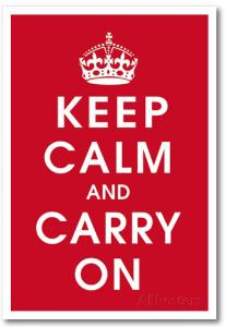 keep calm and carry on, dorm room decor