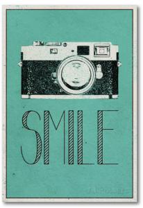 smile poster, dorm room decor