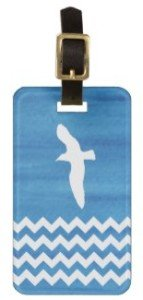 Seagull: Nautical Luggage Tag