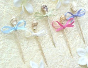 Seashell Toothpicks (100 per pack)
