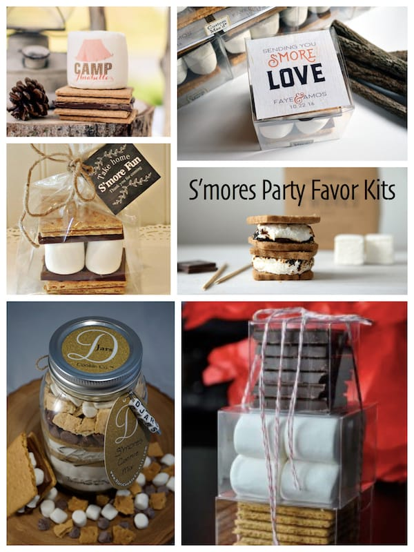 Smores Party Favor Kits