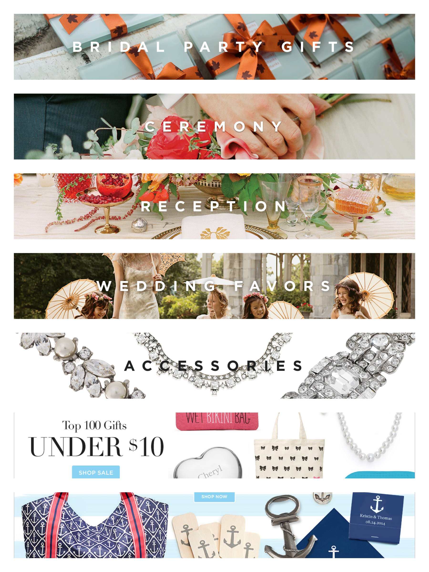 Shop The Knot 20% OFF Labor Day Sale