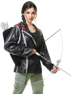 Black Archer Huntress Jacket