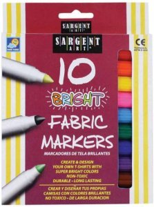 Bright Fabric Markers