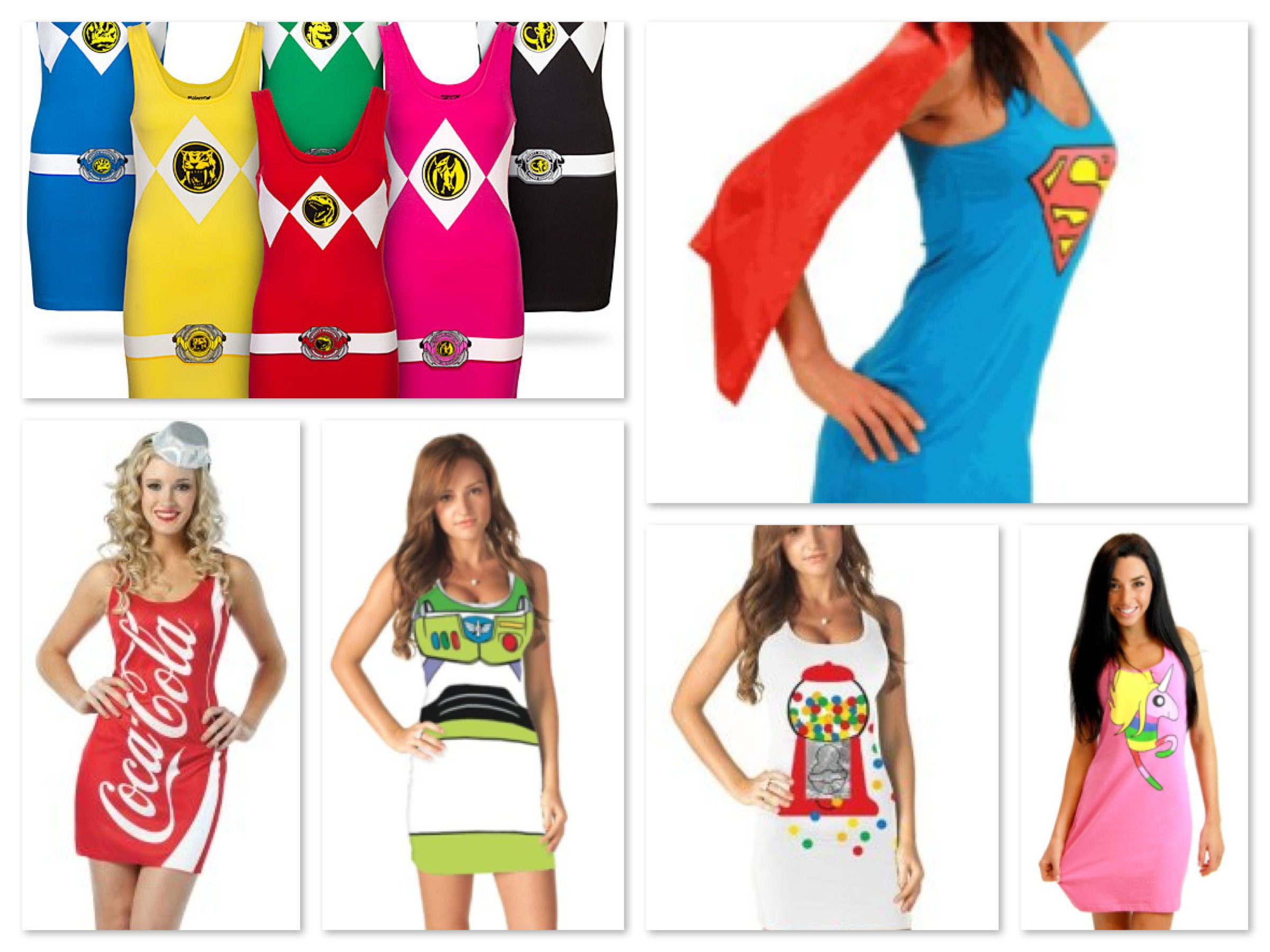 Cute Costumes for Teenage Girls - Tank Dresses