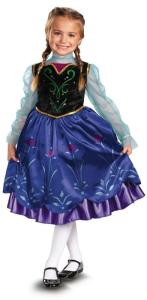 Frozen Deluxe Anna Toddler Child Costume