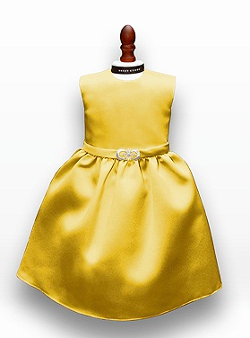 Dessy Girl Doll Dress DOL411 Marigold