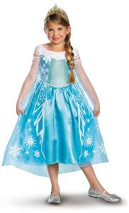 Disney Frozen Deluxe Elsa Toddler Child Costume