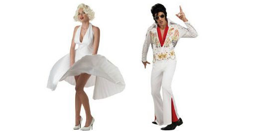 Evis & Marilyn Monroe Couples Costumes