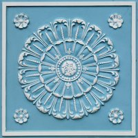Faux Tin Ceiling Tile 151_SkyBlue
