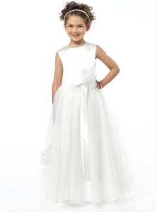 Flower Girl Dress - Style FL4030 White,