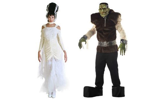 Frankenstein Couples Costumes