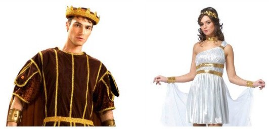 GreeK & Roman Couples Costumes