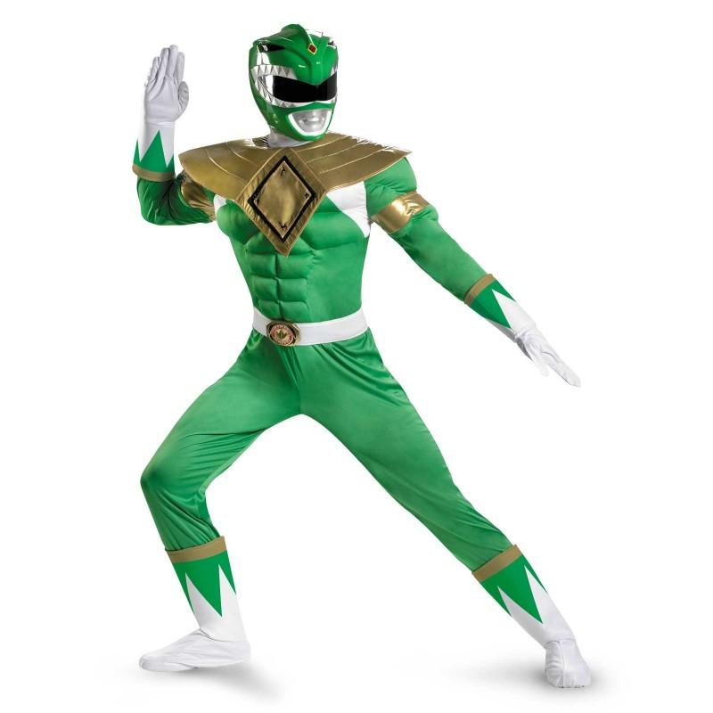 Green Power Ranger Adult