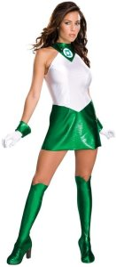 Green Lantern Adult Super Heroine Costume