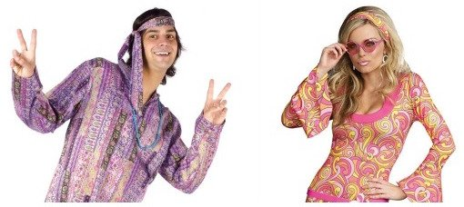 Hippie Couples Costumes