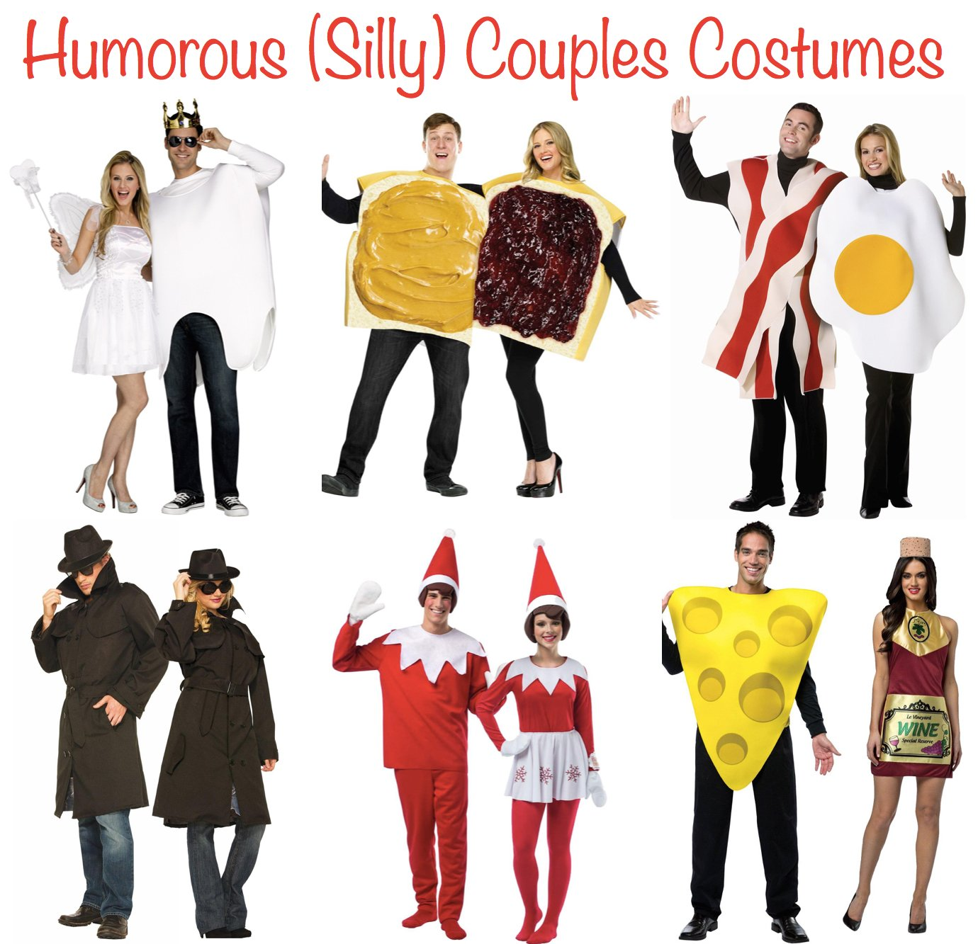 Humorous Silly Couples Costumes