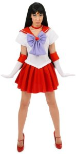 Sailor Mars Teen Costume