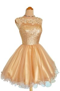 Junior Sweety Gold Dress