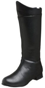 Mens Black Costume Boots