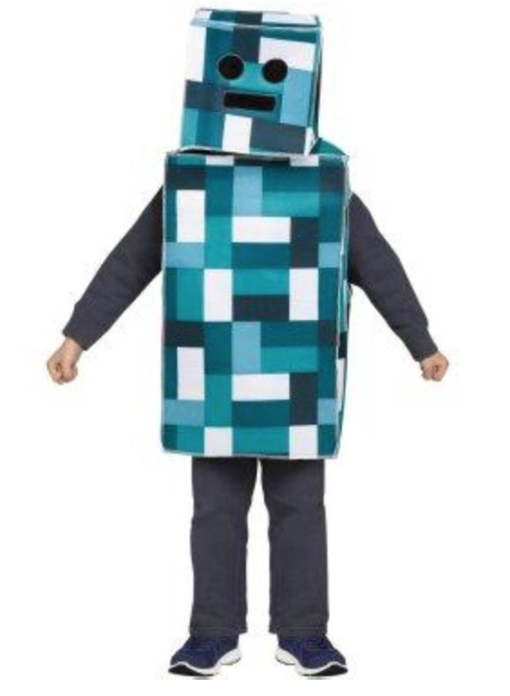 Minecraft Kids Costume