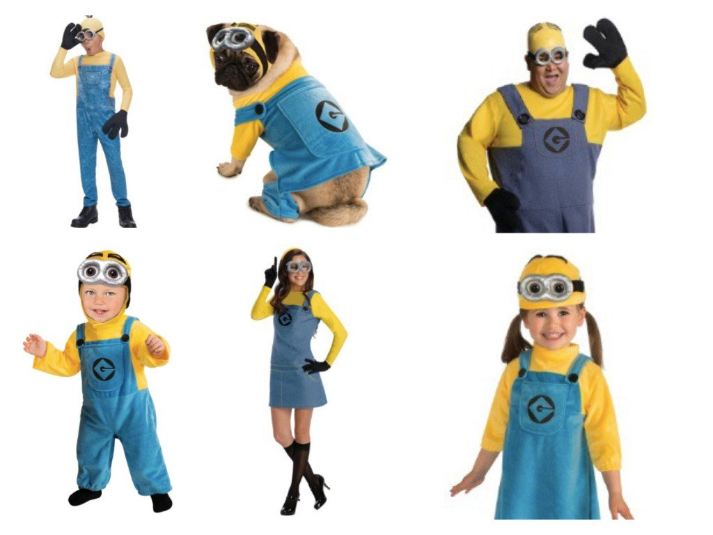 Minions. Minions Family Costumes  sc 1 st  Party Idea Pros & Mommy Daddy and Me Costumes | Babyu0027s 1st Halloween | PartyIdeaPros.com