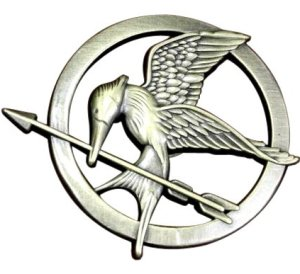 Mockingjay Prop Rep Pin