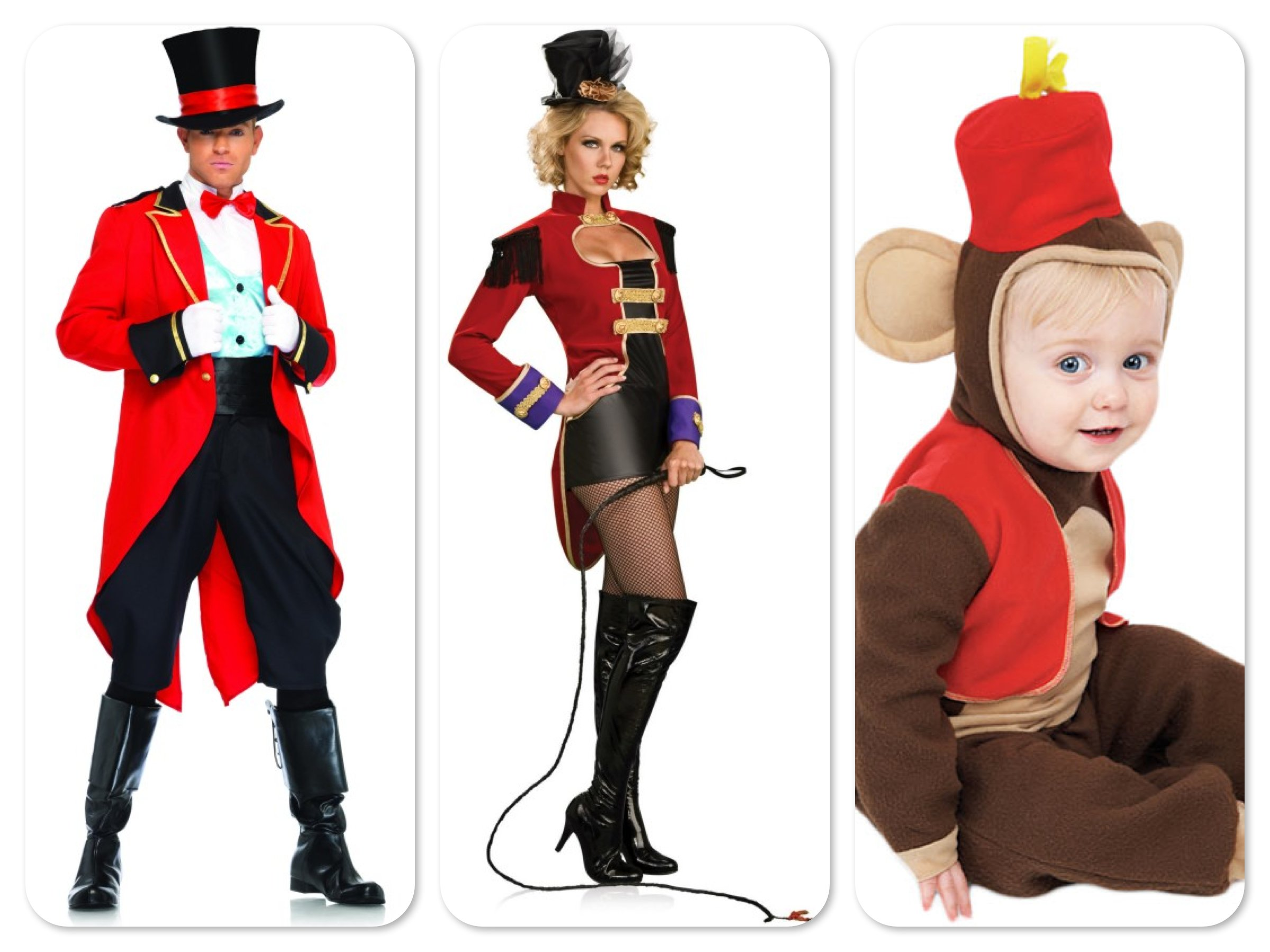 Mommy Daddy & Me Circus Costumes