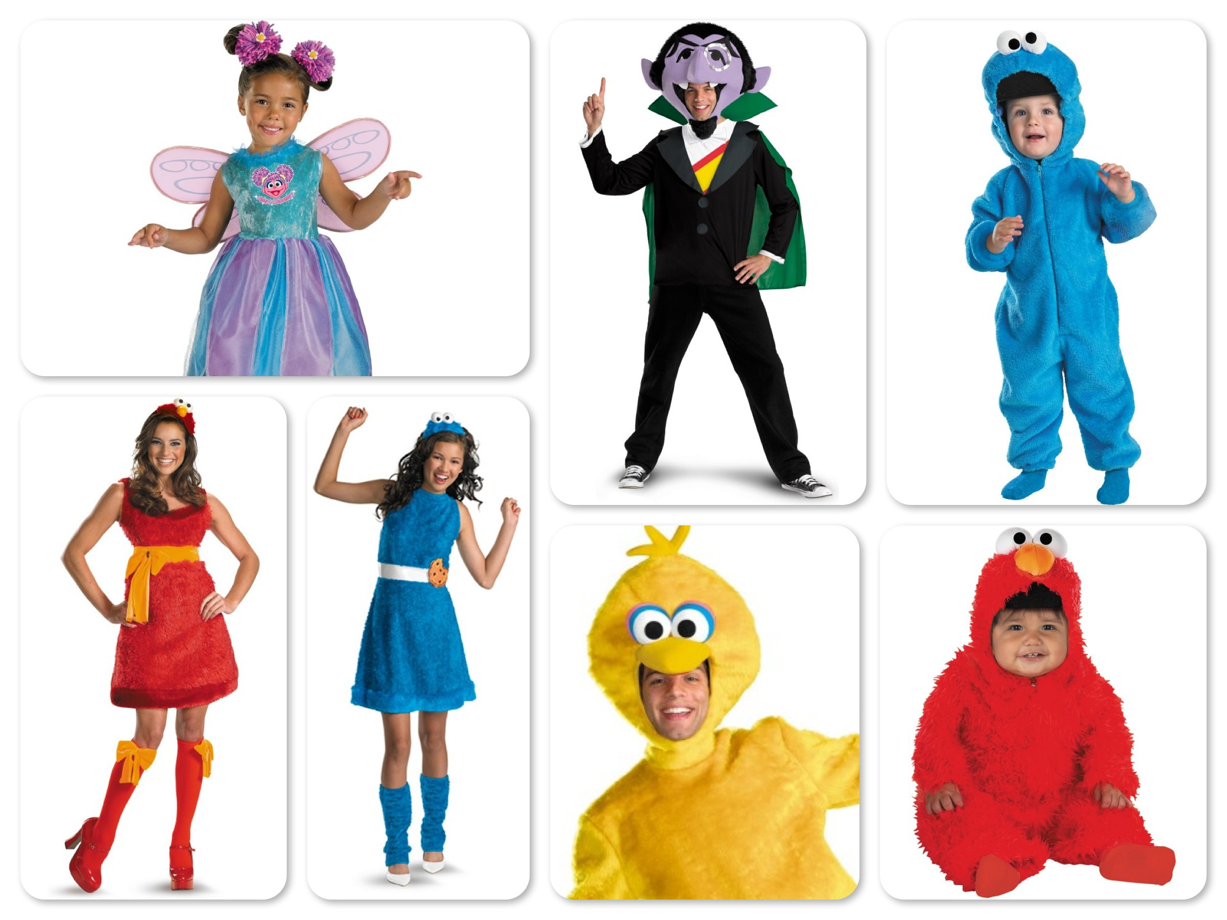 Mommy Daddy Me Sesame Street Costumes