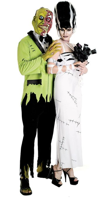 Monster Formal Wear Couples Costumes