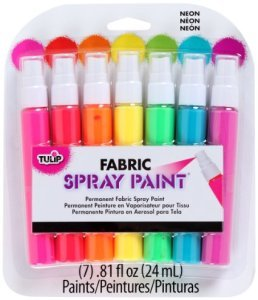 Neon Fabric Spray Set