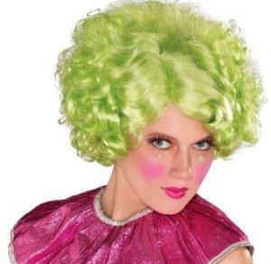 Noble Women Green Wig
