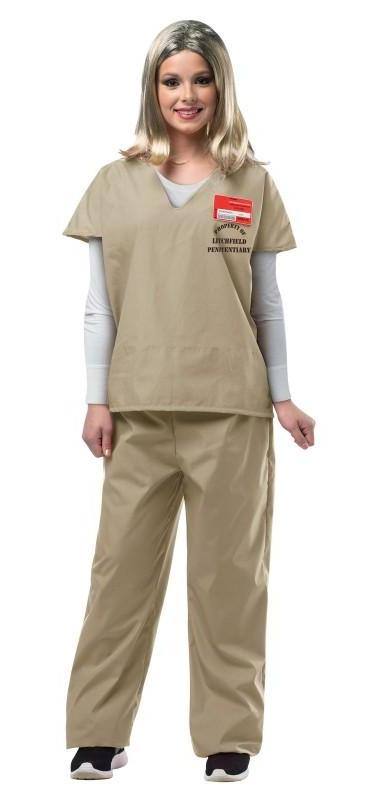 Orange is the New Black Beige Prisoner Jump Suit