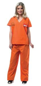Orange is the New Black Orange Prisoner Jump Suit