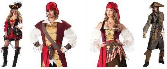 Pirates Couples Costumes