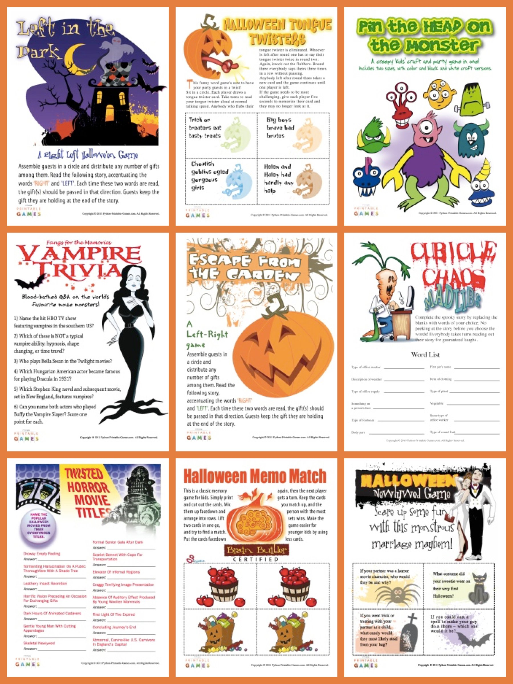 Persnickety image throughout printable holloween games