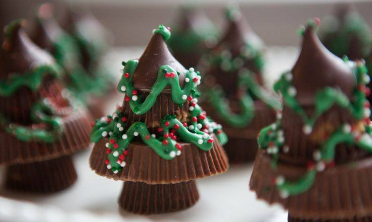 Reese's Peanut Butter Cups Christmas Tree, Candy Christmas Tree Treats