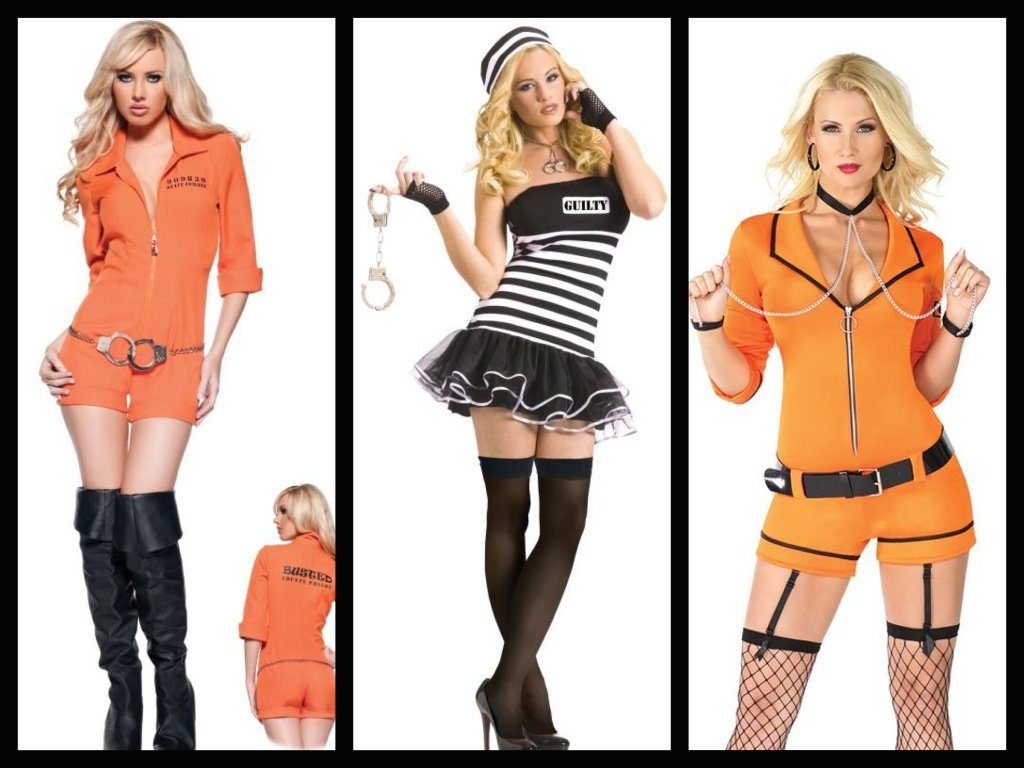 Sexy Inmate Costumes, Sexy Orange is the New Black Costume Ideas