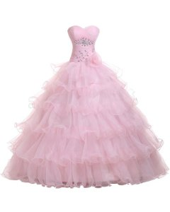 Sweetheart Organza Ball Gown